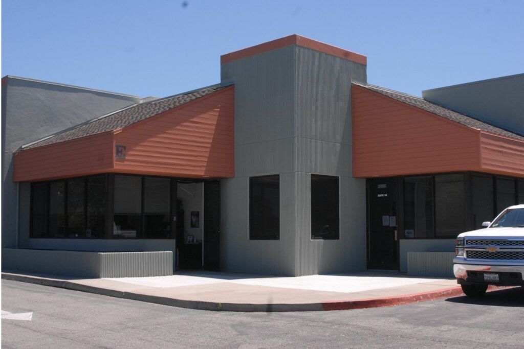 MESS Clean Up exterior office building. Serving California's Central Coast with Asbestos, Mold, Lead, and Selective Demolition. Property Managers example